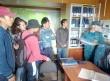 Участники школы-тренинга посетили пожарную часть