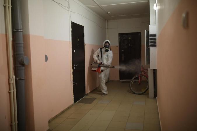 Информация о проведении заключительной дезинфекции в многоквартирных домах 22 ноября