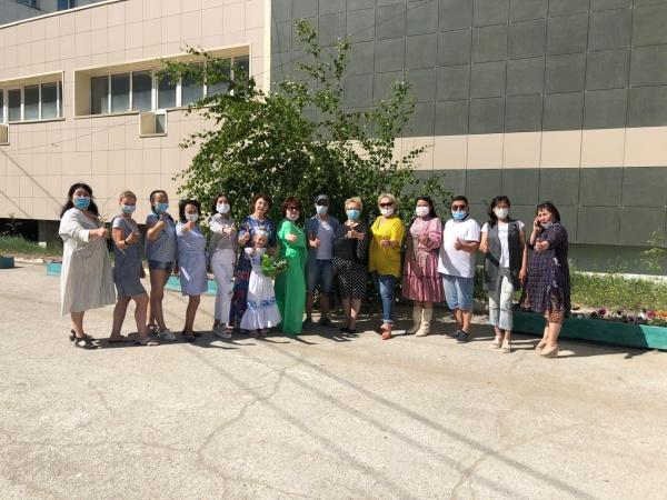 В Якутске прошла акция в честь медицинских работников