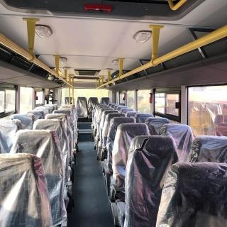 В Якутск прибыли новые автобусы повышенной комфортности