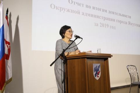 Сардана Авксентьева встретилась с жителями села Хатассы