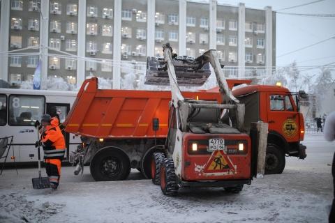 "План работ АО ""Якутдорстрой"" на 24 января (ночная смена)"