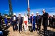 В День республики в Якутске установили первую сваю, с которой начнется строительство нового 17 квартала