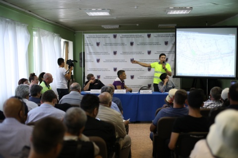 В Якутске прошла встреча с населением в рамках реализации национального проекта «БКАД»