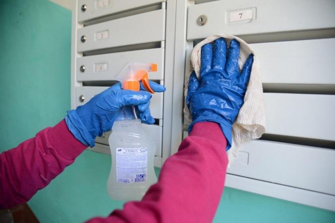 Информация о санобработке подъездов жилых домов в Якутске на 18 часов 29 декабря