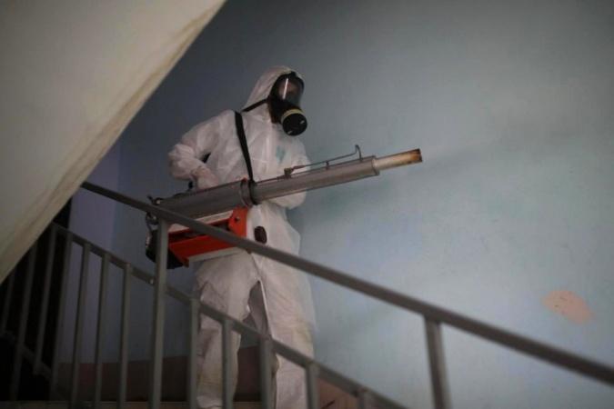 Информация о проведении заключительной дезинфекции в многоквартирных домах 12 ноября