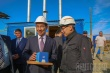 Год добра: В Мархе открылись новая модульная котельная и детская площадка