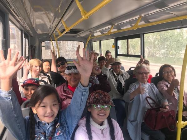 Ко Дню знаний состоялись бесплатные пешие и автобусные экскурсии по городу