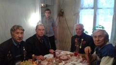 В Сайсарском округе поздравили с 95-летием участника войны Михаила Попова