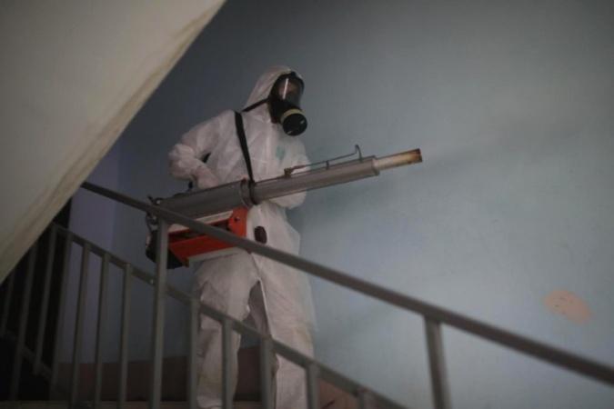 Информация о проведении заключительной дезинфекции в многоквартирных домах 8 ноября