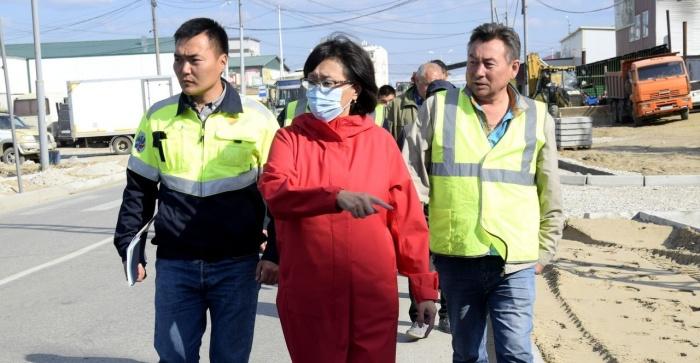В Якутске проверили гарантийные объекты ремонта дорожной сети