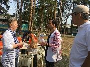 В детском лагере Радуга дети изучают японский язык В этом им помогает преподаватель из Поднебесной