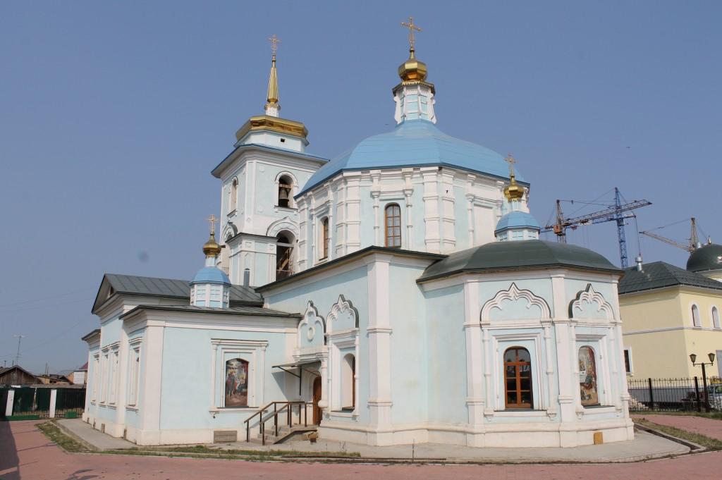 Градо-Якутская Богородская церковь