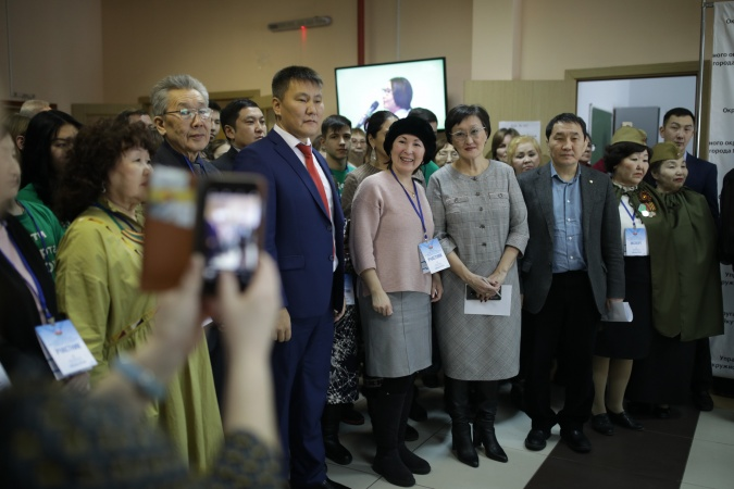 В Якутске проводится форум общественности Строительного округа