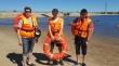 Добровольцы столицы патрулируют городской пляж