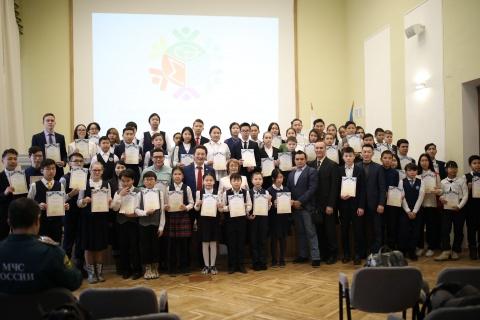 В Якутске завершился городской этап конкурса молодых исследователей «Шаг в будущее»