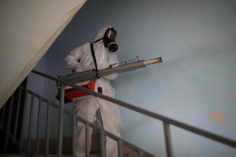 Информация о проведении заключительной дезинфекции в многоквартирных домах 26 октября