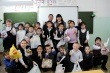 Добровольцы вручили новогодние подарки воспитанникам коррекционной школы №22 города Якутска