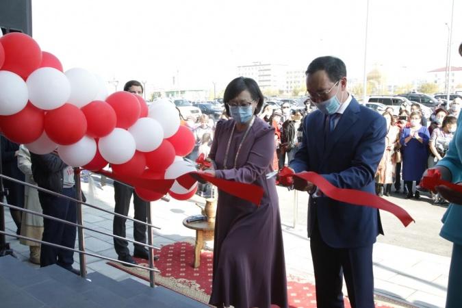 В Якутске состоялось торжественное открытие Центра культуры и современного искусства им. Ю.А. Гагарина