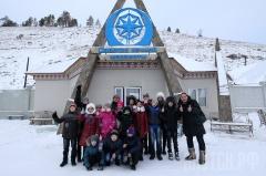 Воспитанники Республиканской специализированной (коррекционной) школы-интерната посетили туристический комплекс «Царство вечной мерзлоты»