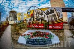 В столице открылся памятник, посвященный вдовам ветеранов Великой Отечественной войны