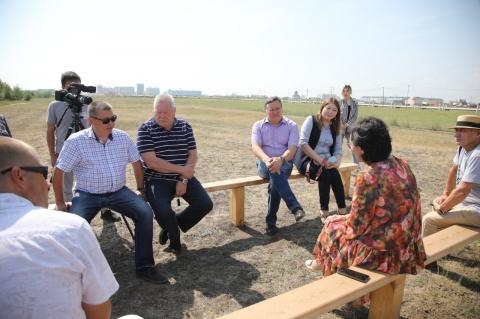В Якутске планируется построить Парк Победы рядом с Ус Сэргэ на Автостраде 50 лет Октября