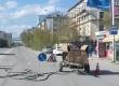 Идут работы по восстановлению дорожного полотна по Дзержинского