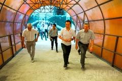 Объезд главы города: открытие гаражного комплекса, ремонт дорог и социальных объектов