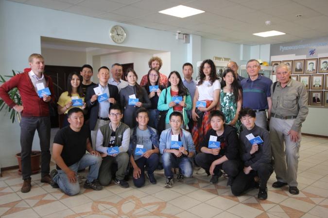 В Окружной администрации состоялась встреча с юными альпинистами