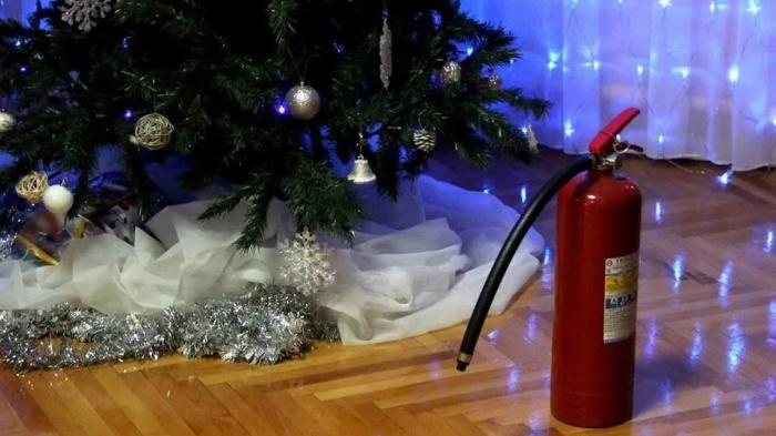 В Якутске установлен особый противопожарный режим на период новогодних праздников