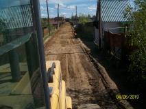 В Сайсарском округе идет работа по грейдированию дорог