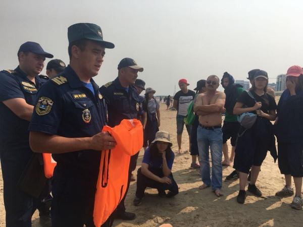 Добровольцы Якутска прошли обучение спасению на воде