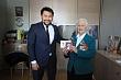 Евгений Григорьев вручил ветеранам войны юбилейные медали к 75-летию Великой Победы