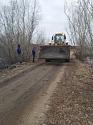 В селе Пригородный восстановили поврежденную паводком дорогу
