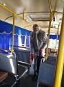 В пассажирских автобусах проведена тотальная дезинфекция