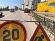 Плановая уборка пыли и ямочный ремонт улиц в Якутске 23 июля