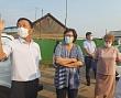 Сардана Авксентьева проверила работы по благоустройству села Хатассы