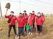 В Якутске проводится ежегодная высадка саженцев в Парке Победы