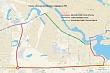 Продлено ограничение движения транспортных средств на участке дороги улицы Курнатовского