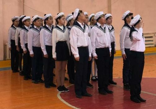В Губинском округе состоялся «Смотр песни и строя-2021» среди школьников