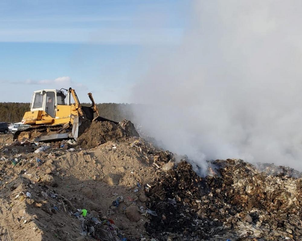 На городском полигоне продолжат эксперимент по мониторингу и раннему обнаружению очагов возгорания