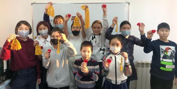 В Центре помощи семьям г. Якутска провели мастер-класс для детей