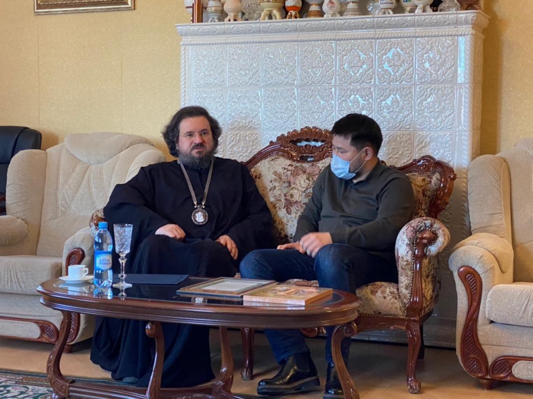 Евгений Григорьев поздравил православных верующих с наступающим праздником Пасхи