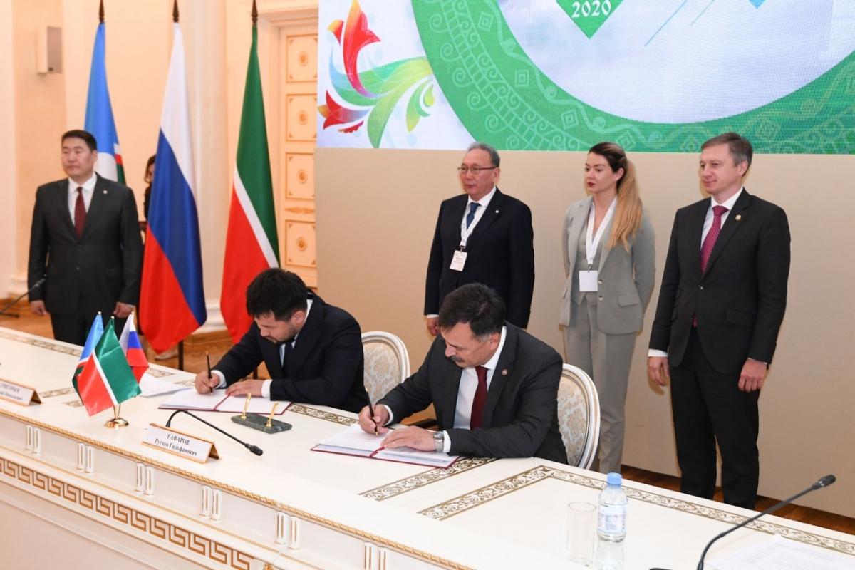 Казань и Якутск подписали соглашение о межмуниципальном сотрудничестве