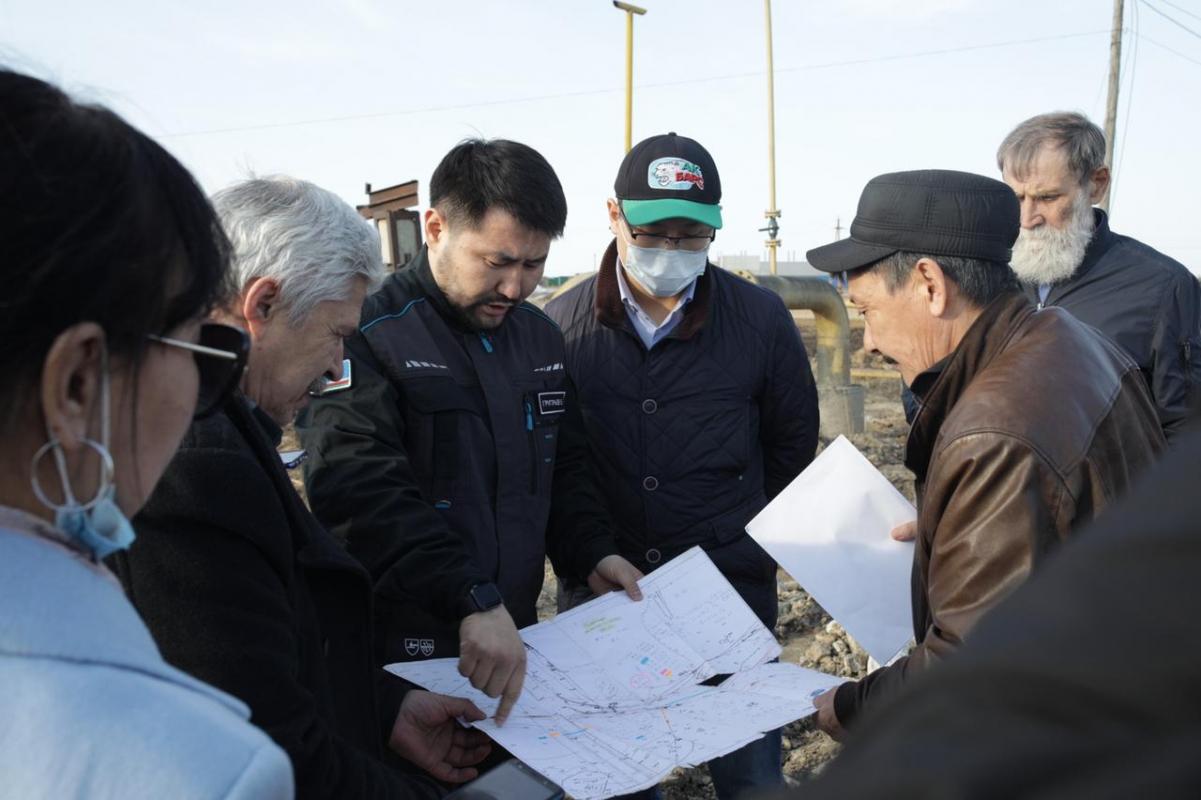Евгений Григорьев проверил готовность гидротехнических сооружений к пропуску паводковых вод