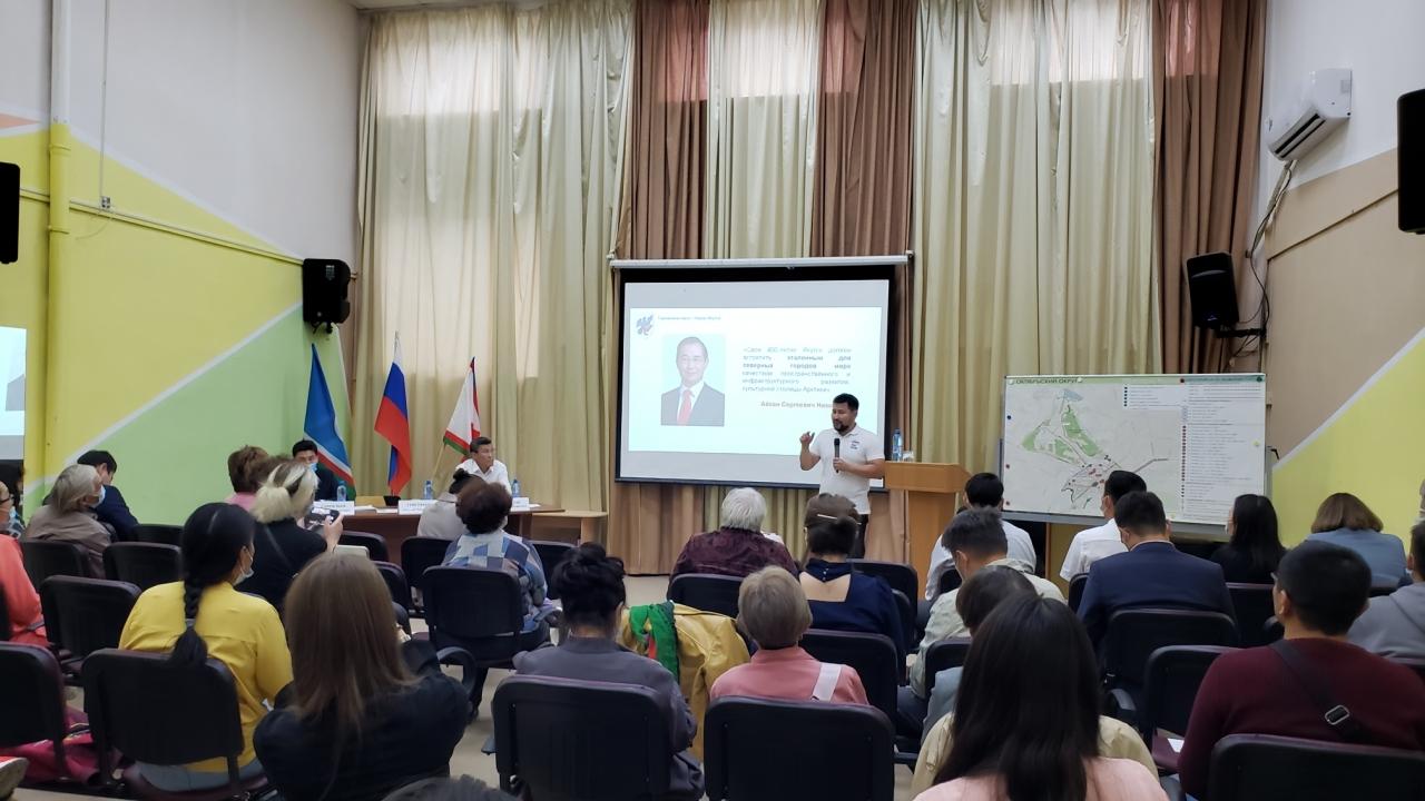 Евгений Григорьев встретился с жителями Октябрьского округа