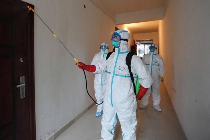 Информация о проведении заключительной дезинфекции в многоквартирных домах 9 ноября
