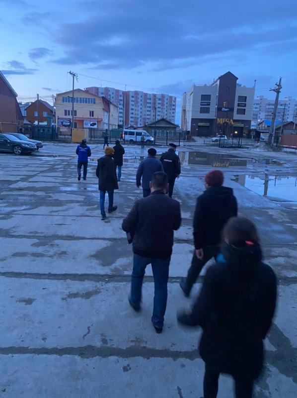 Оперштаб г. Якутска по противодействию коронавирусной инфекции проверил развлекательные заведения столицы