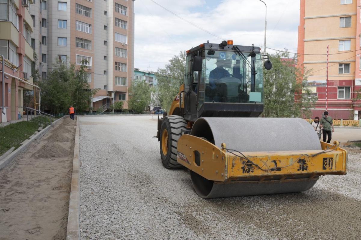 Тридцать дворовых территорий начнут ремонтировать в Якутске
