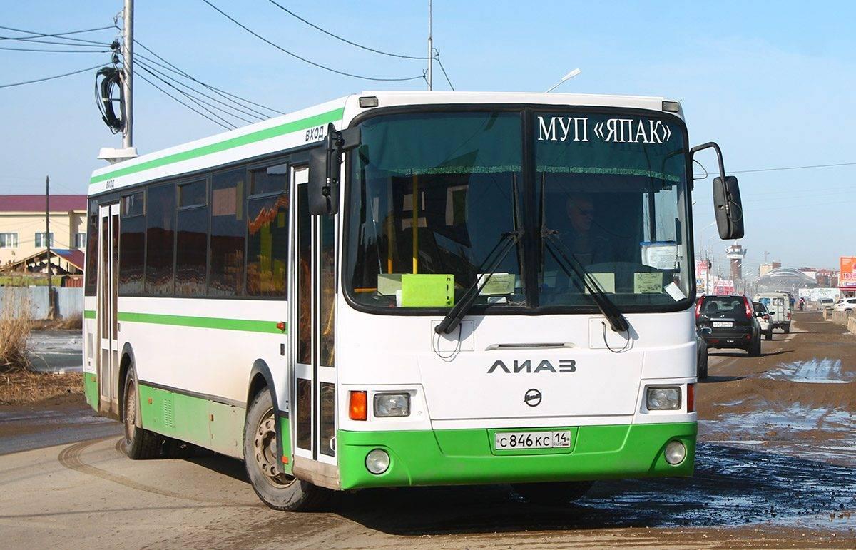 В Якутске с 1 мая начнут курсировать дачные автобусы